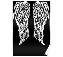 Biker Wings Funny TShirt Epic T-shirt Humor Tees Cool Tee Poster