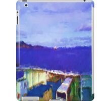 ferry view sea nature iPad Case/Skin