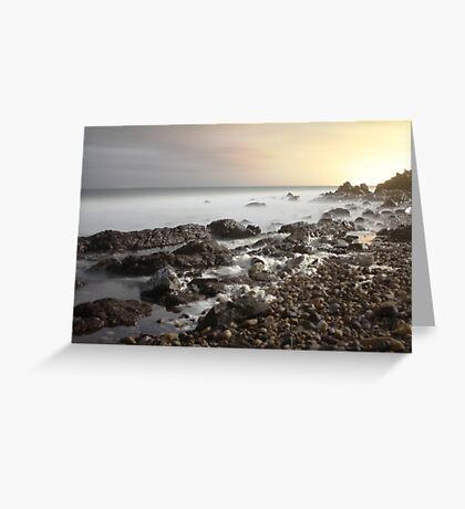 Hallet Cove - rocky outcrop Greeting Card
