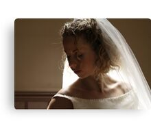 Bridal #1 Canvas Print