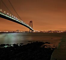 Verrazano-Narrows bridge by pmarella