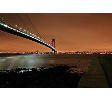 Verrazano-Narrows bridge Photographic Print
