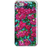 Red Flower photo painting iPhone Case/Skin