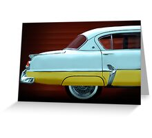 Chrysler Plymouth Greeting Card