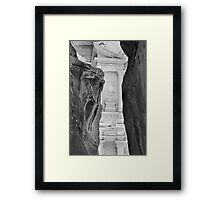Self-framed stone beauty Framed Print