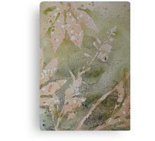 Garden conversation 3 Canvas Print