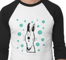 Snow Rabbit Men's Baseball ¾ T-Shirt