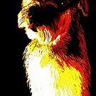 Terrier Art by Karen Harding