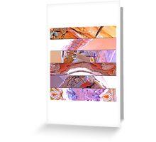 abstract. find art everywhere. demolitions I. demolições I Greeting Card