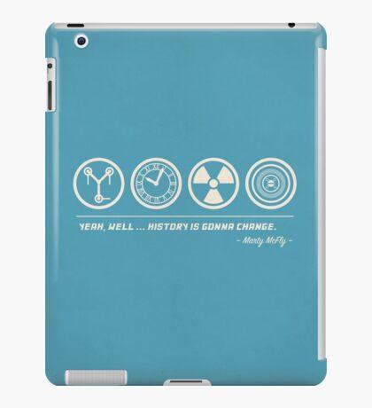 Back to the Future Symbolism iPad Case/Skin