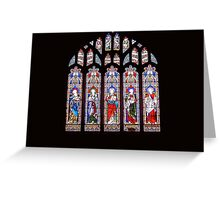 Coloured Lights Greeting Card