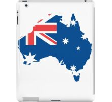 Australia Flag and Map iPad Case/Skin