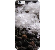 Salt & Pepper the perfect matrimony iPhone Case/Skin