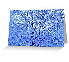 The Icing on the Tree Greeting Card