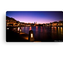 East Perth Lights Canvas Print