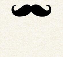 Black mustache Hoodie