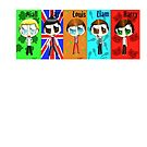 Chibi One Direction  by SpottiClogg