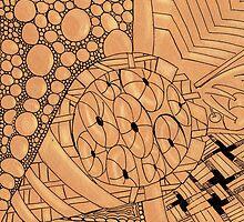 Zentangle cone by Annalisa Amato