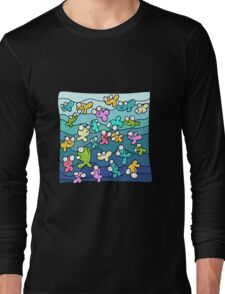 Happy Fish Long Sleeve T-Shirt