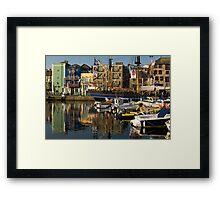 Plymouth Barbican UK. Framed Print
