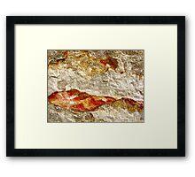 Tangerine Mountain Dawn Framed Print