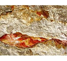 Tangerine Mountain Dawn Photographic Print