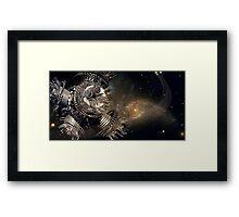 galatica 2 Framed Print