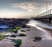 St. Kilda Pier - Melbourne - Victoria - Australia by Frank Moroni
