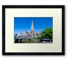 st Patrick Cathedral Framed Print