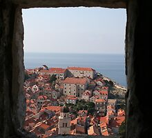 Window with a view by Katy Pryor