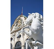 Palace & Art Photographic Print