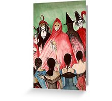 Masque Of The Red Death  Greeting Card
