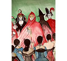 Masque Of The Red Death  Photographic Print