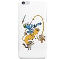 Adventure Time - Regular Show iPhone Case/Skin