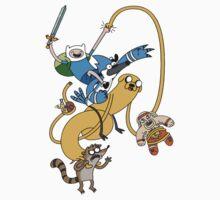 Adventure Time - Regular Show T-Shirt