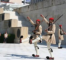 Greek Soldiers by Katy Pryor