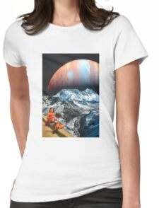 We Float Womens Fitted T-Shirt