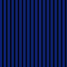 Slimming Vertical Striped Skirt Blue Black by Melissa Park