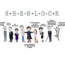 Sherlock Line up by hazelmead