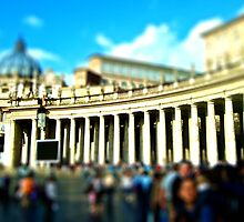 St. Peter's Columns  by russtokyo