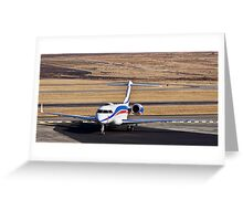 Bombardier BD-700-1A11 Global 5000 Greeting Card