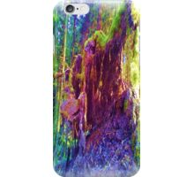 Photo art of fallen tree iPhone Case/Skin