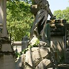 A beautiful and graceful monument, Pere Lachaise cemetery, Paris by BronReid