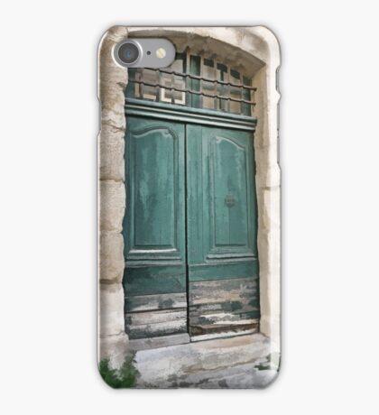 Green Doors iPhone Case/Skin