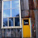 Old Train Workshop by Jenni Greene