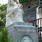 Chopin monument, Pere Lachaise by BronReid