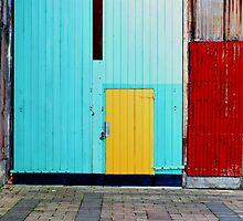 Corner of Contrasts by Jenni Greene