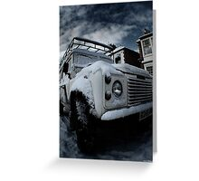 Landrover 2 Greeting Card
