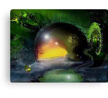 the green trip Canvas Print