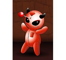 Voodoo Doll Evil Devil Cartoon Photographic Print